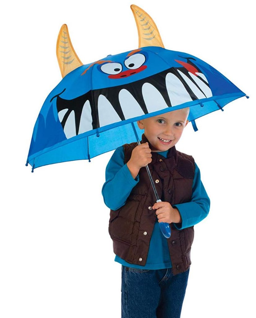 Toysmith monster umbrella for kids: Fun back to school supplies and accessories under $10