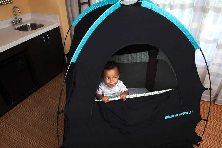 Travel with toddlers: Make bedtime easier with SlumberPod