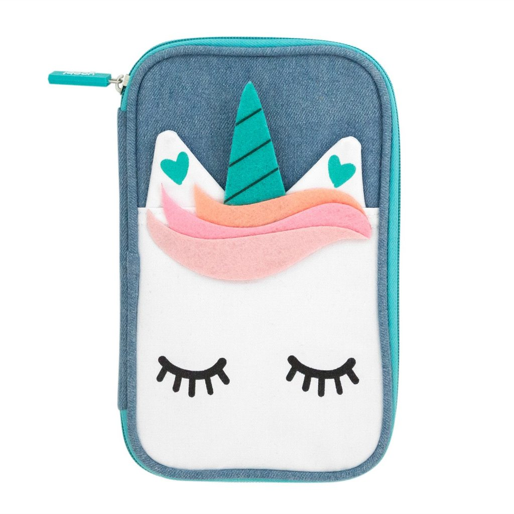Unicorn pencil case by Yoobi at Target: Cool back to school supplies and accessories under $10