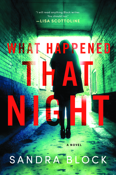 7 new books from women authors: What Happened That Night by Sandra Block | Sponsor