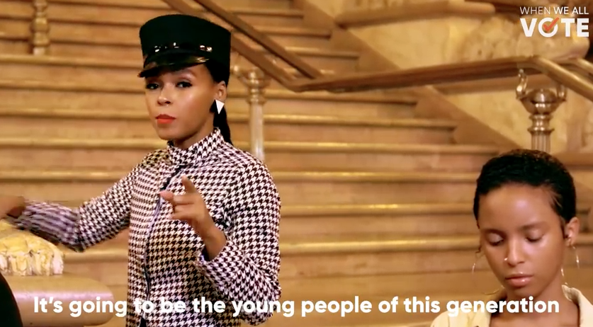 When We All Vote: Janelle Monae is a co-chair in the new nonpartisan voter registration campaign