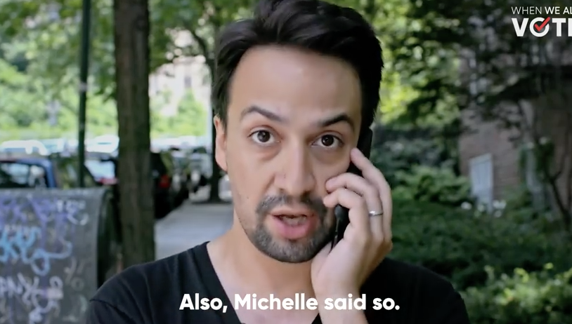 When We All Vote: Lin-Manuel Miranda is a co-chair in the new non-partisan voter registration initiative