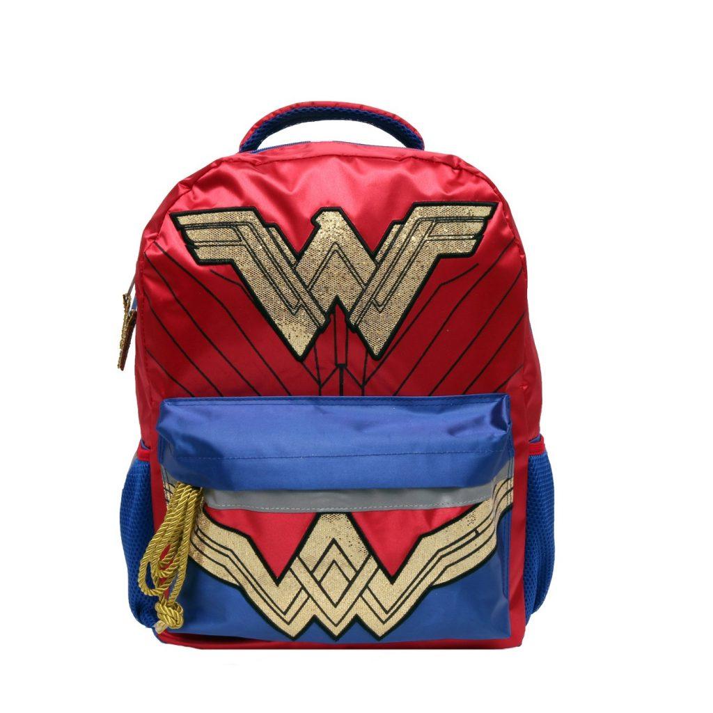 cool backpacks for preschool, kindergarten and little kids: Wonder Woman Preschool or Little Girls Backpack
