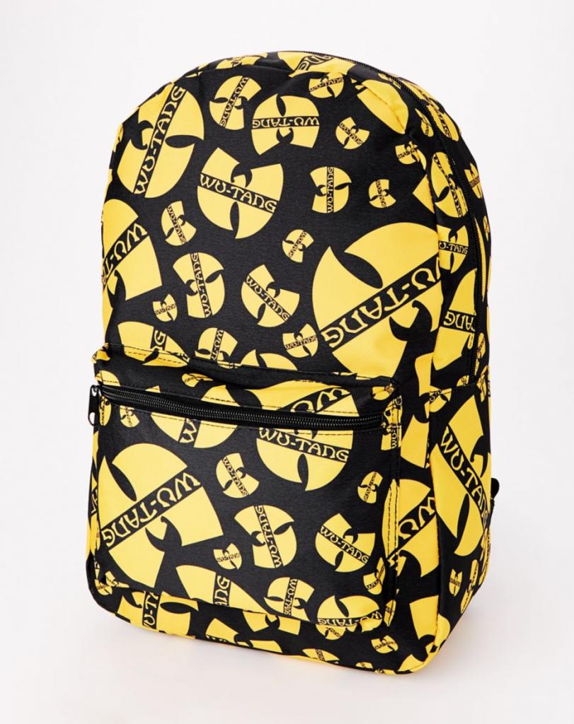 Cool backpacks for tweens + teens: Wu Tang Clan Backpack