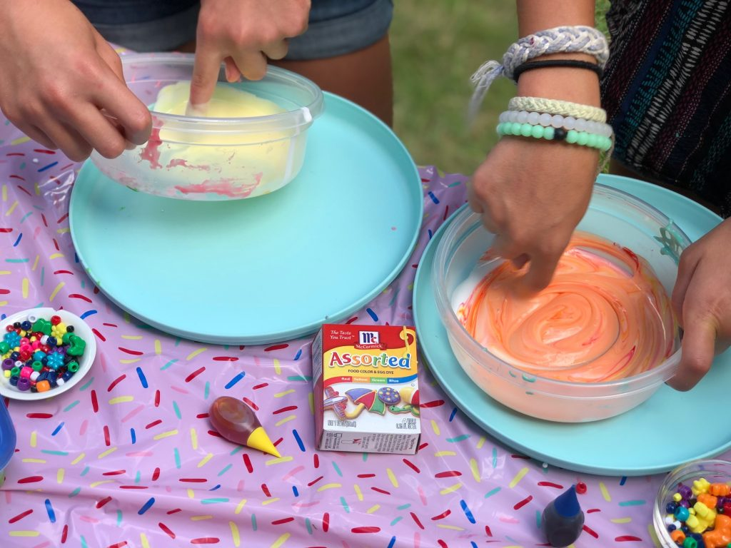 Everything you need for a DIY Slime Party: Sponsor - McCormick Food Color and Egg Dye