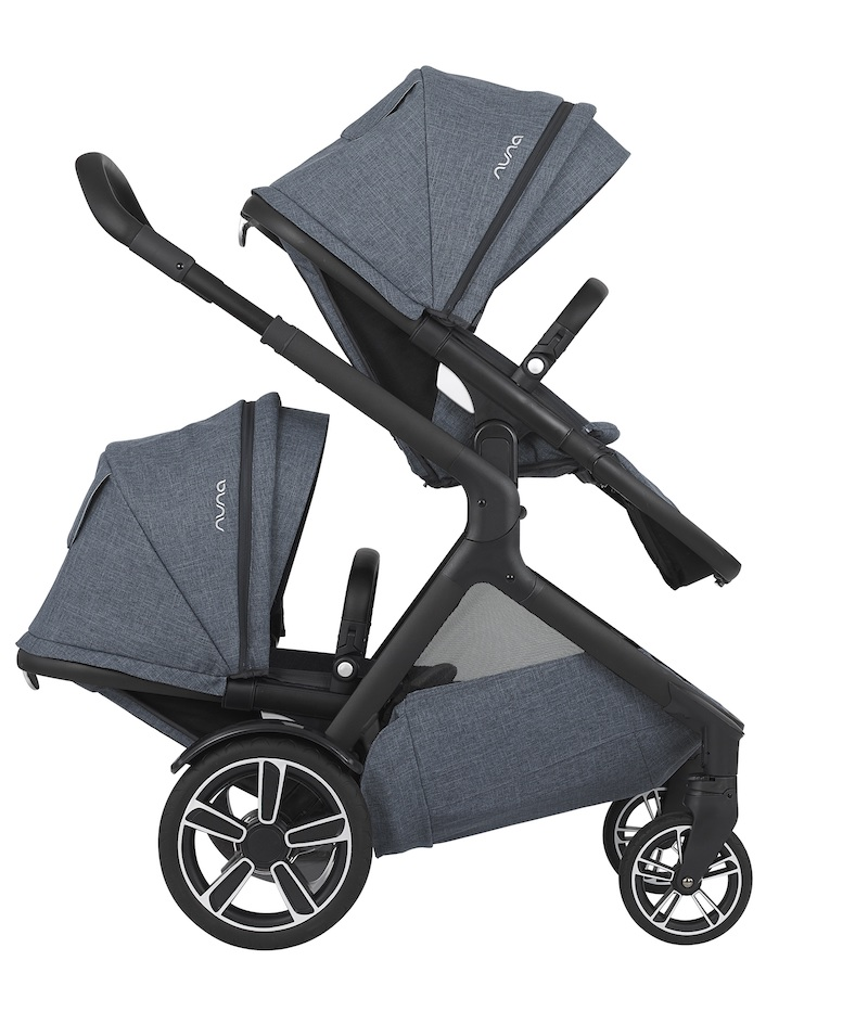 Best baby gear for twins: The Nuna DEMI Grow fills all our requirements for twin strollers.
