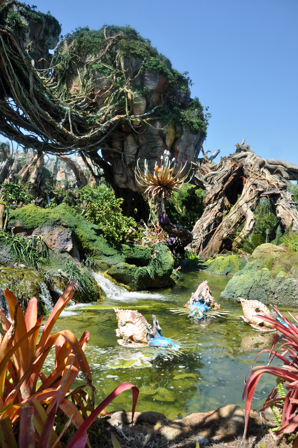 Fun things to do in Orlando without kids: Pandora at Disney's Animal Kingdom is so cool, even for grownups! | Photo by Anne Wolfe Postic for Cool Mom Picks