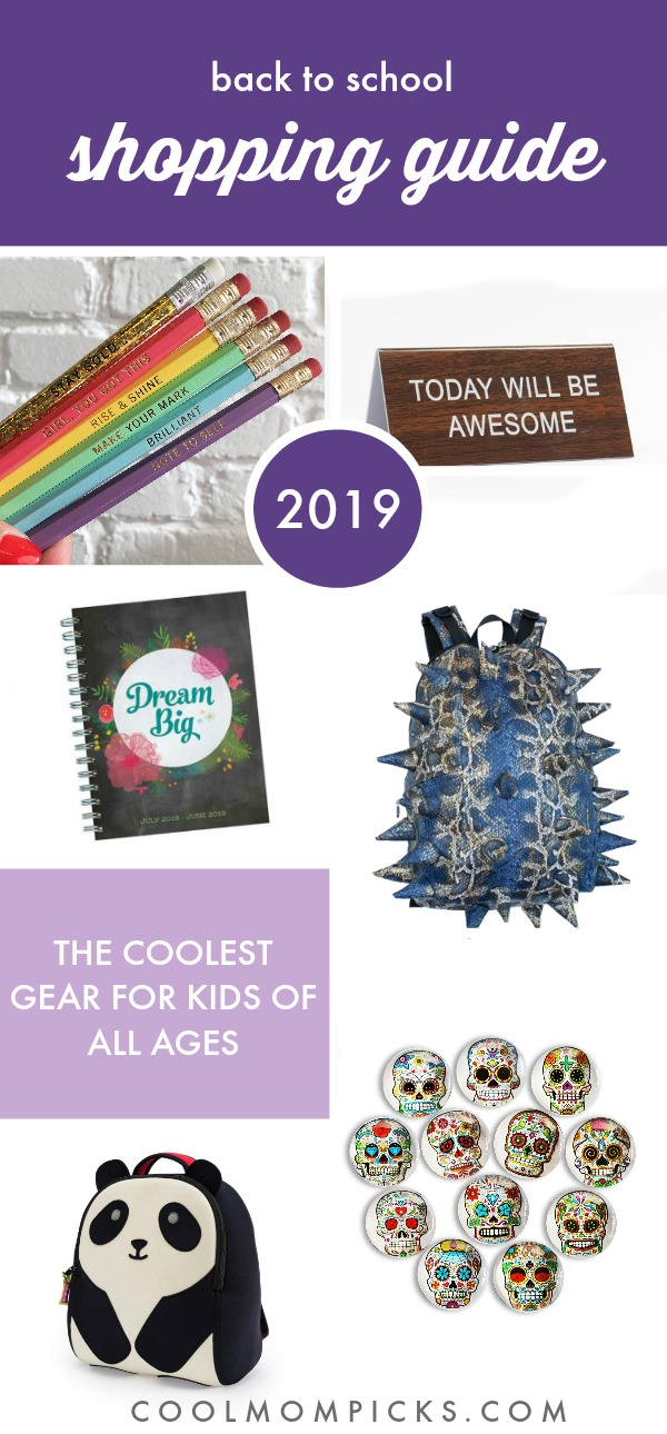 Cool Mom Picks Back to School Shopping Guide 2018