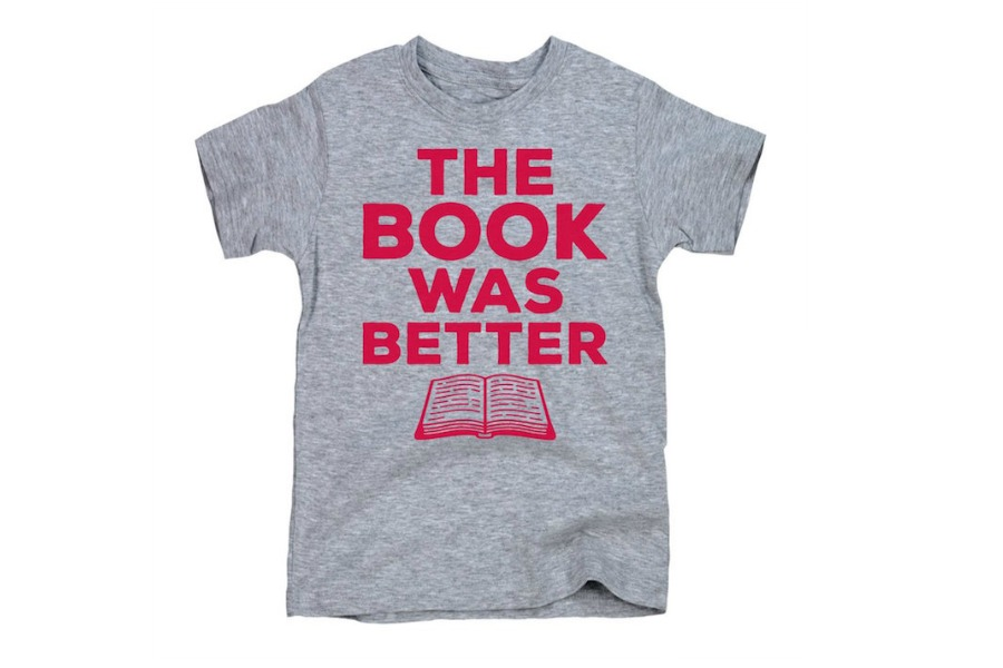 9 clever, cool kids' tees for book lovers | Back to School Guide 2018
