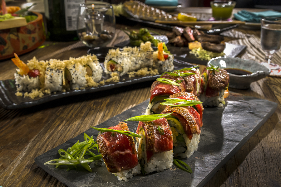 Fun things to do in Orlando without kids: The best restaurants outside the parks include Dragonfly Robata Grill Sushi