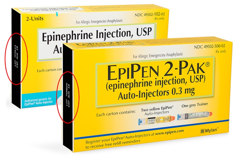 Is your expired EpiPen safe to use? Check here.
