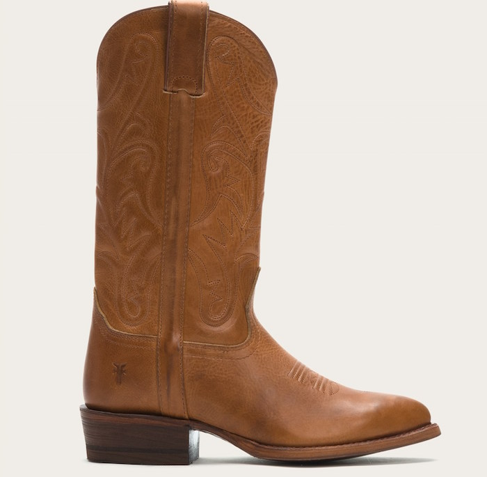 Get into the Western boot trend at the FRYE sale