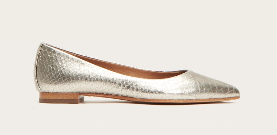 Sienna Ballet Flats are $149 at the FRYE sale