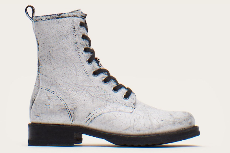 Veronica Combat boots are 50% off at the FRYE sale