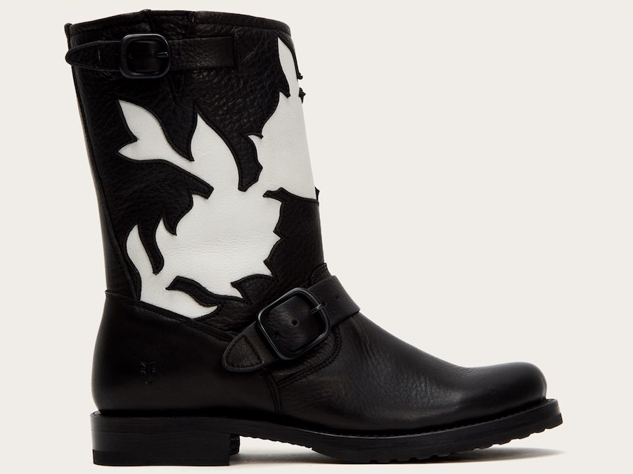 Veronica Floral Short boots are on sale at the FRYE sale