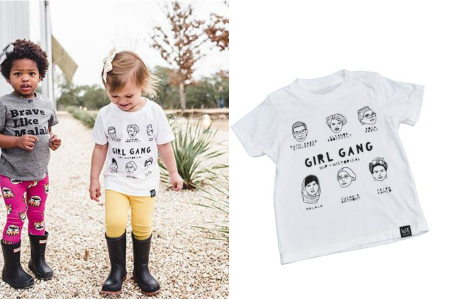 One girl gang you'll want your kid to run with