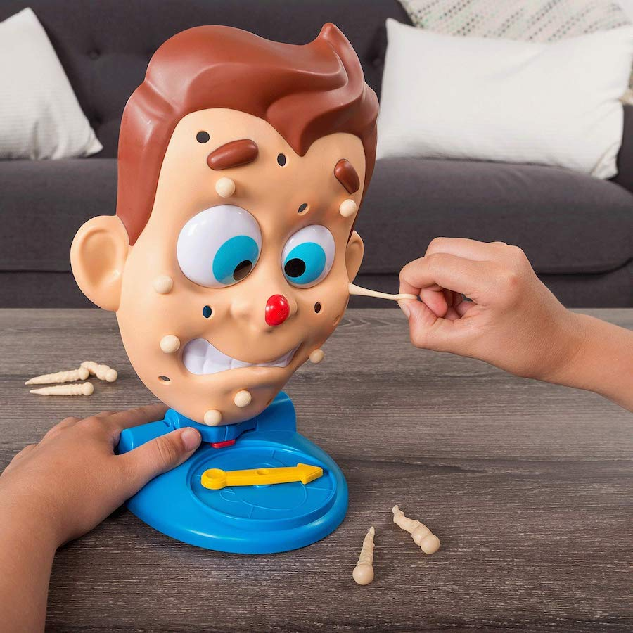 Gross family games: Pimple Pete