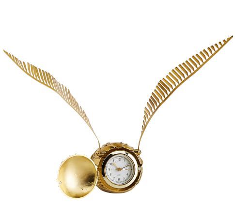 Harry Potter Golden Snitch Clock at PB Kids