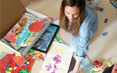 12 creative ways to display kids' artwork, from DIYs to clutter-saving services