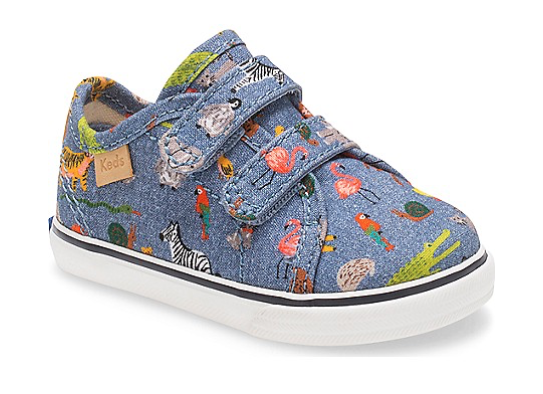 Keds x Rifle Paper Co. includes shoes for babies, too!