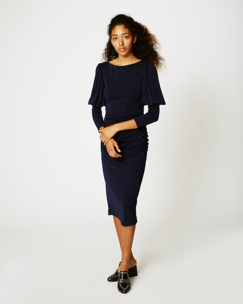 Labor Day sales: Nicole Miller Puff Sleeve Dress is more than $250 off