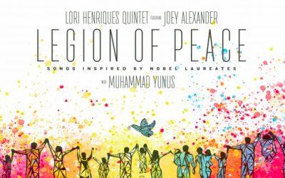 This jazzy new album celebrates Nobel Laureates and inspires everyday kindness in kids