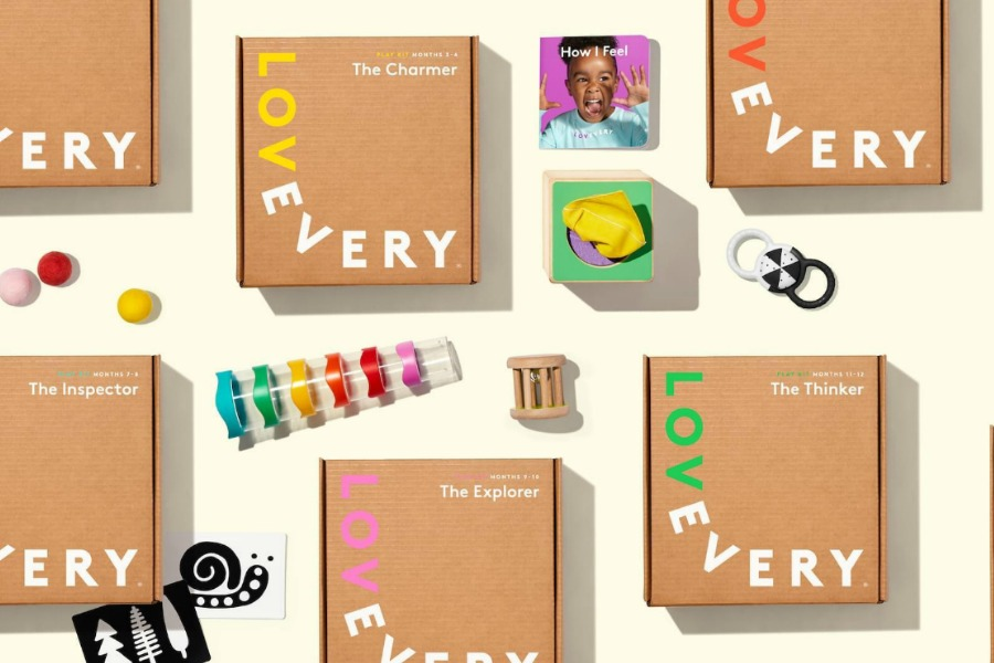 Love Every Baby: the beautifully curated toy box subscription by developmental stage