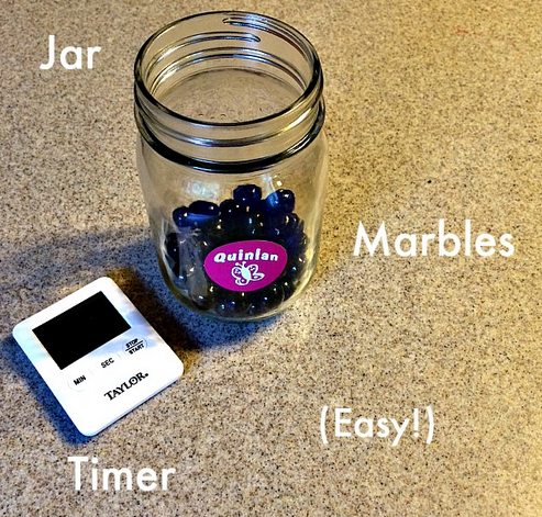 How to use a Marble Jar to make your mornings easier | Cool Mom Picks