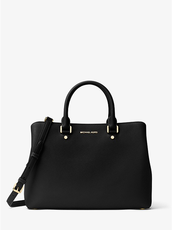 Michael Kors Large Saffiano Leather Satchel on Sale!
