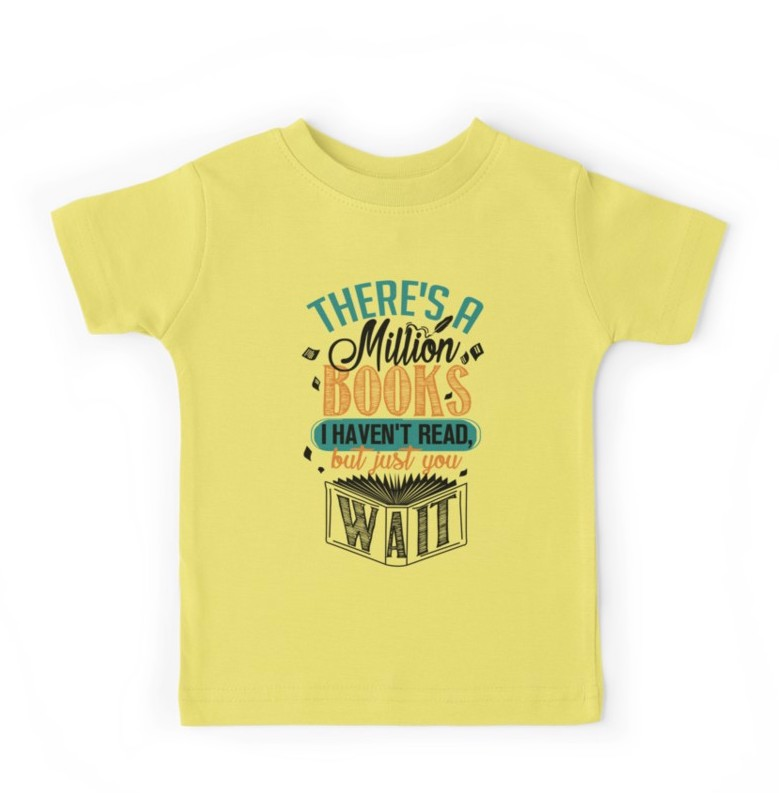 9 clever, cool kids' tees for book lovers | Back to School ...