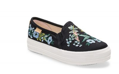 Keds and Rifle Paper Co put out more gorgeous shoes, you know…for kids.