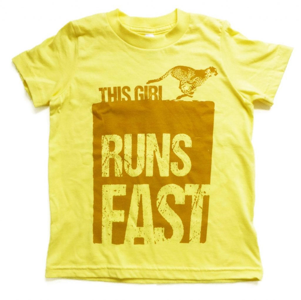 This girl runs fast tee from This Girl Tees on Etsy