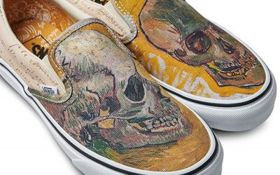 Vans has new shoes inspired by Vincent Van Gogh. And, yes, they are masterpieces.