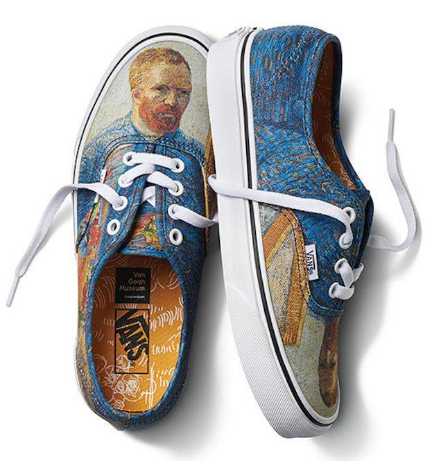 Vans x Van Gogh Museum collection: Vincent Van Gogh shoes