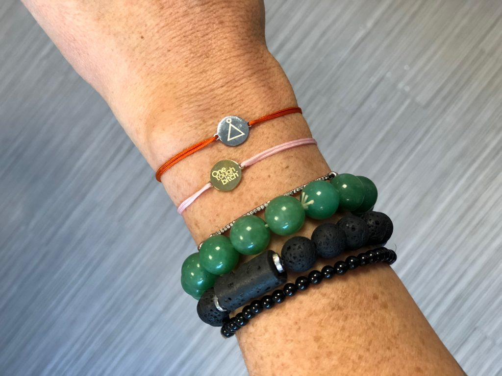 One Tough Bitch offers strong women bracelets and necklaces with a great mission | Cool Mom Picks