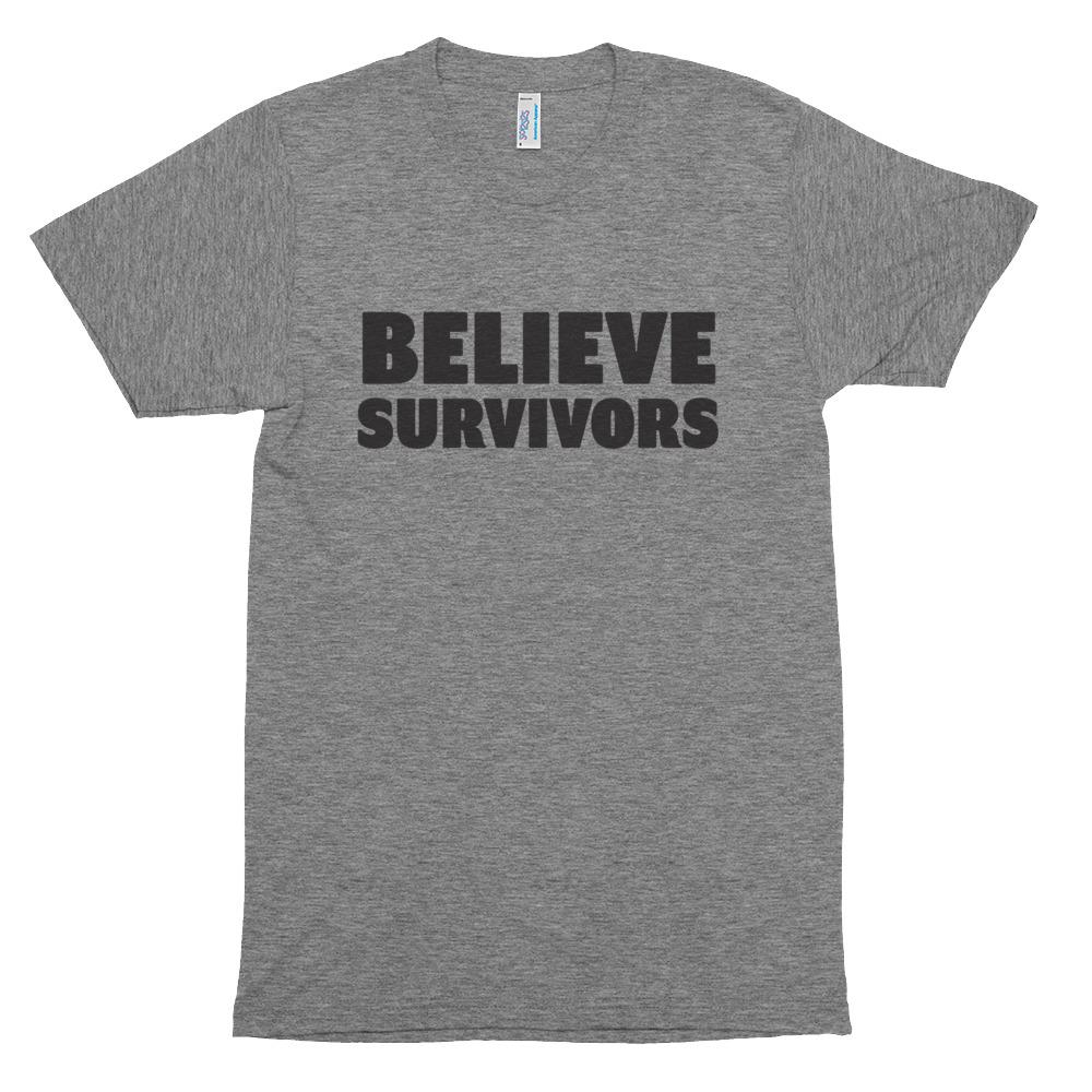 Believe Survivors shirt: 100% of proceeds supporting organizations supporting survivors of sexual violence including #MeToo and RAINN
