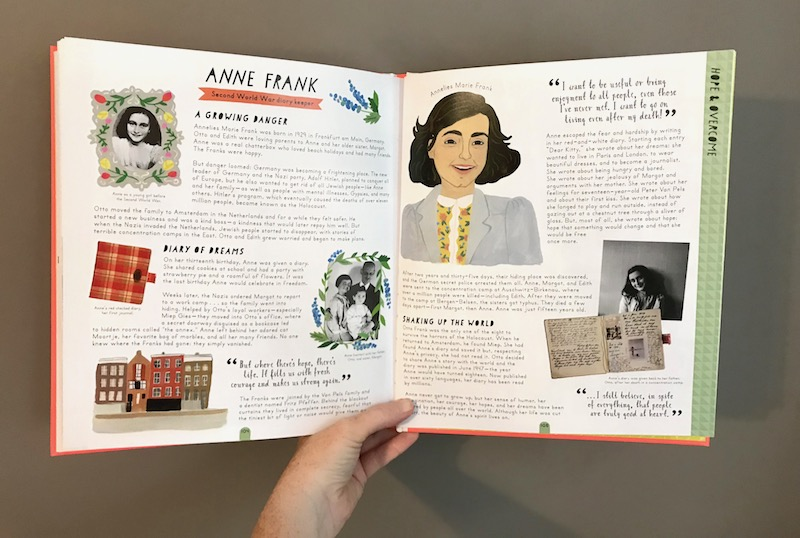 Herstory by Katherine Halligan and Sarah Walsh: Anne Frank bio