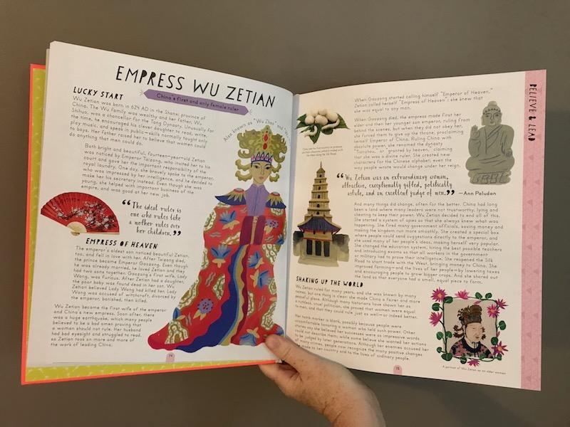 Herstory by Katherine Halligan and Sarah Walsh: Empress Wu Zetian bio