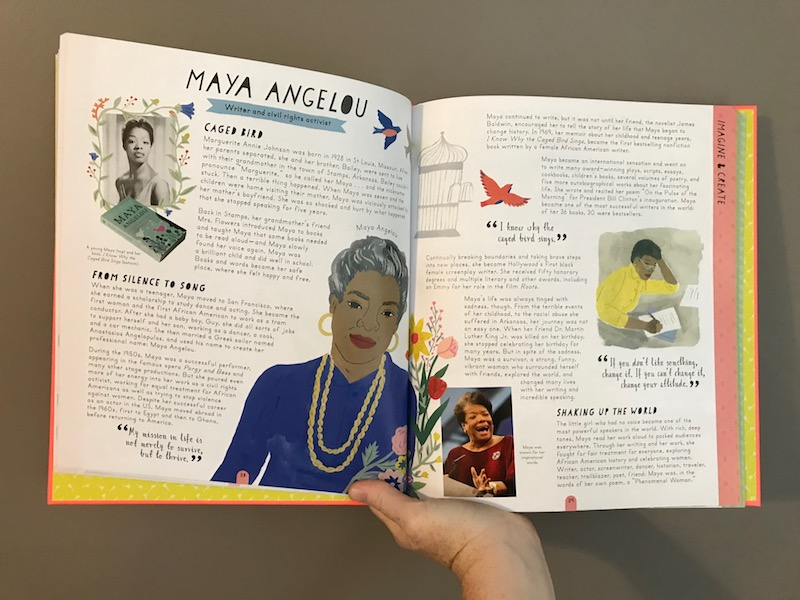 Herstory by Katherine Halligan and Sarah Walsh: Maya Angelou Bio
