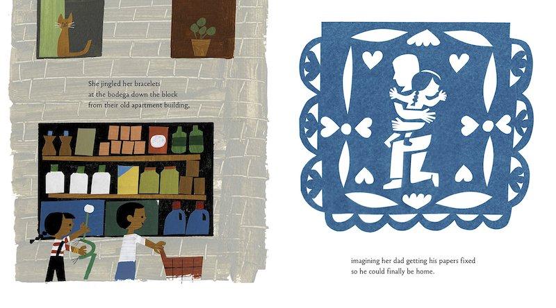 Hispanic Heritage Month books: Carmela Full of Wishes by Matt de la Peña and Christopher Robinson