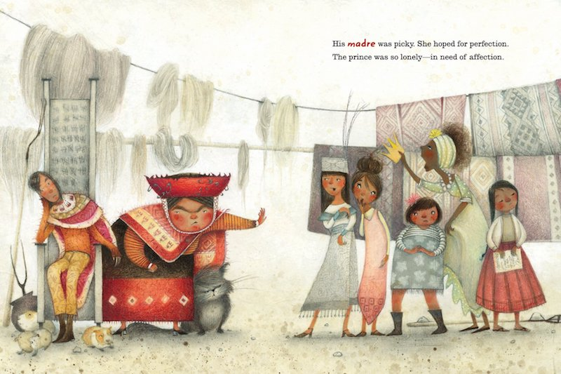 Best children's books of 2018: La Princesa and the Pea by Juana Martinez-Neal's