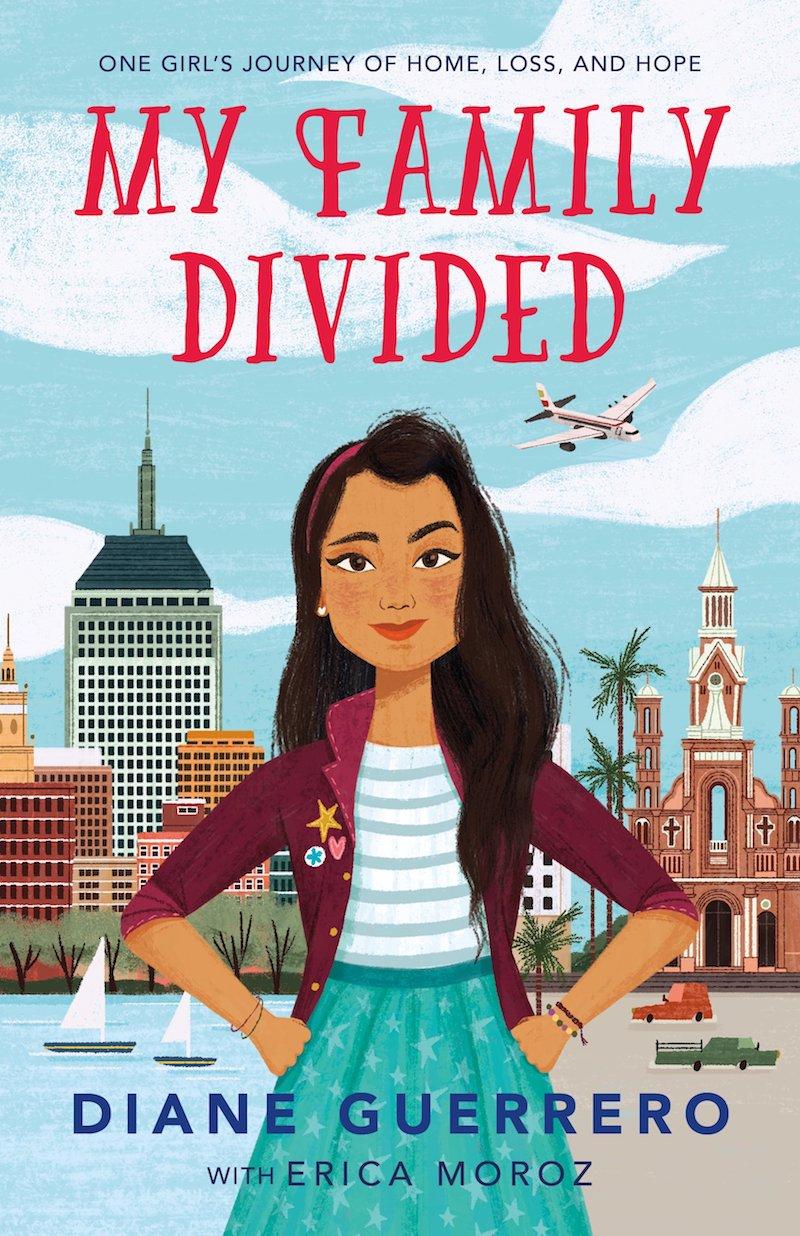 Hispanic Heritage Month books: My Family Divided by Diane Guerrero