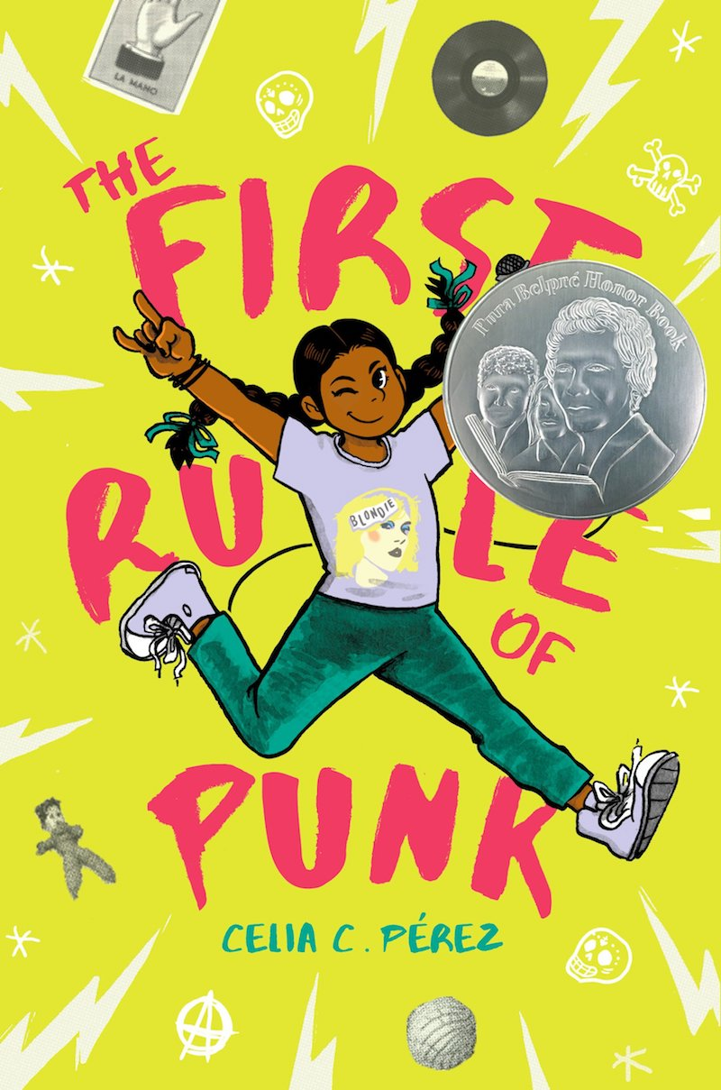 Hispanic Heritage Month books: The First Rule of Punk by Celia C. Pérez