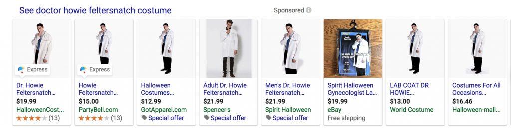 """Dr Howie Feltersnatch"" GYN costumes glorify sexual predators"