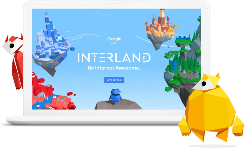The Interland online Be Internet Awesome game helps teach kids about kindness and cyberbullying (sponsor)