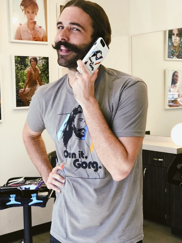 "Limited edition Jonathan Van Ness Queer Eye ""OWN IT, GORG"" t-shirts, hoodies and iPhone cases"