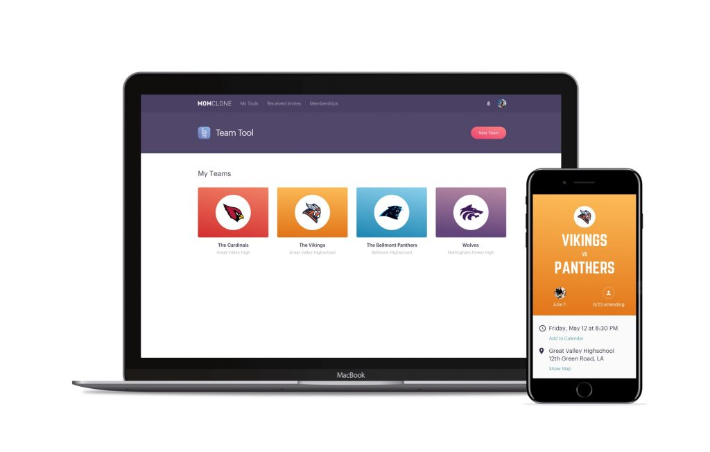 MomClone helps you organize your kid's sports team | Sponsor
