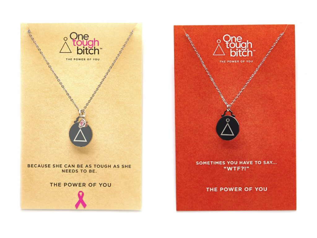 One Tough Bitch: Empowering necklaces that make fantastic gifts for women who need a little boost | Cool Mom Picks