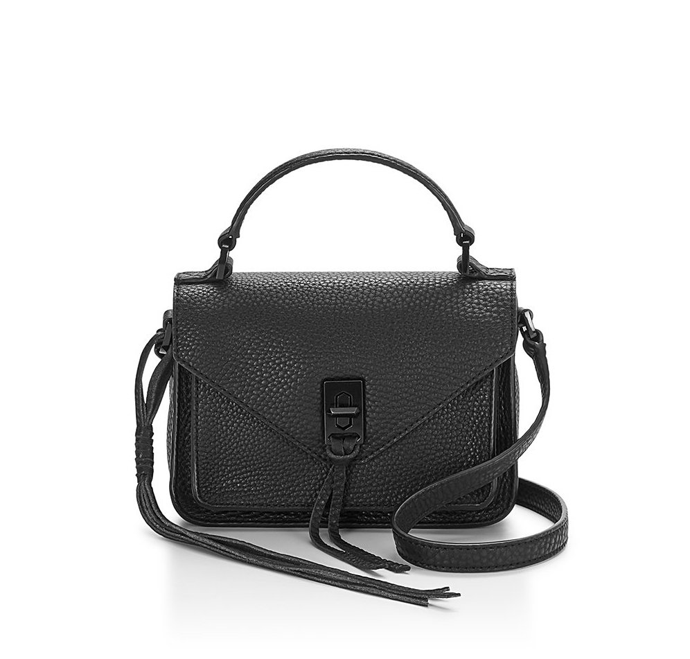 Rebecca Minkoff Mini Darren Messenger Bag is a fabulous twist on the trendy mini-crossbody bags for fall and winter