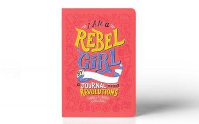 Take a peek inside the new I Am a Rebel Girl: A Journal to Start Revolutions. It's wonderful.